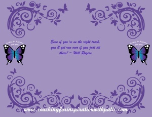 Purple Quote - Will Rogers