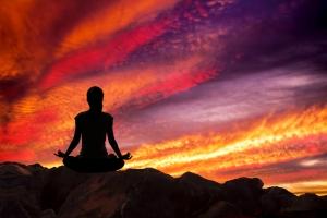 Create balance sunset