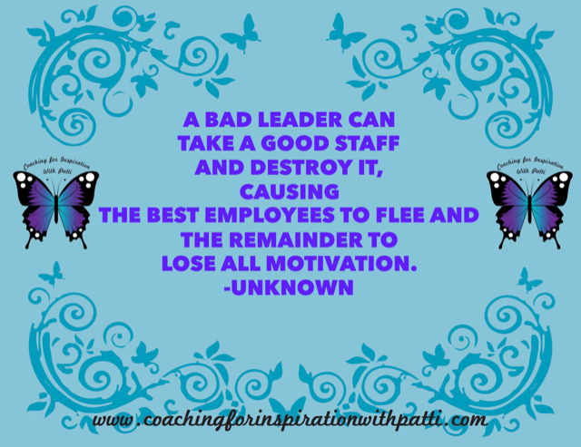 Bad Leadership Styles Series – Coaching for Inspiration with